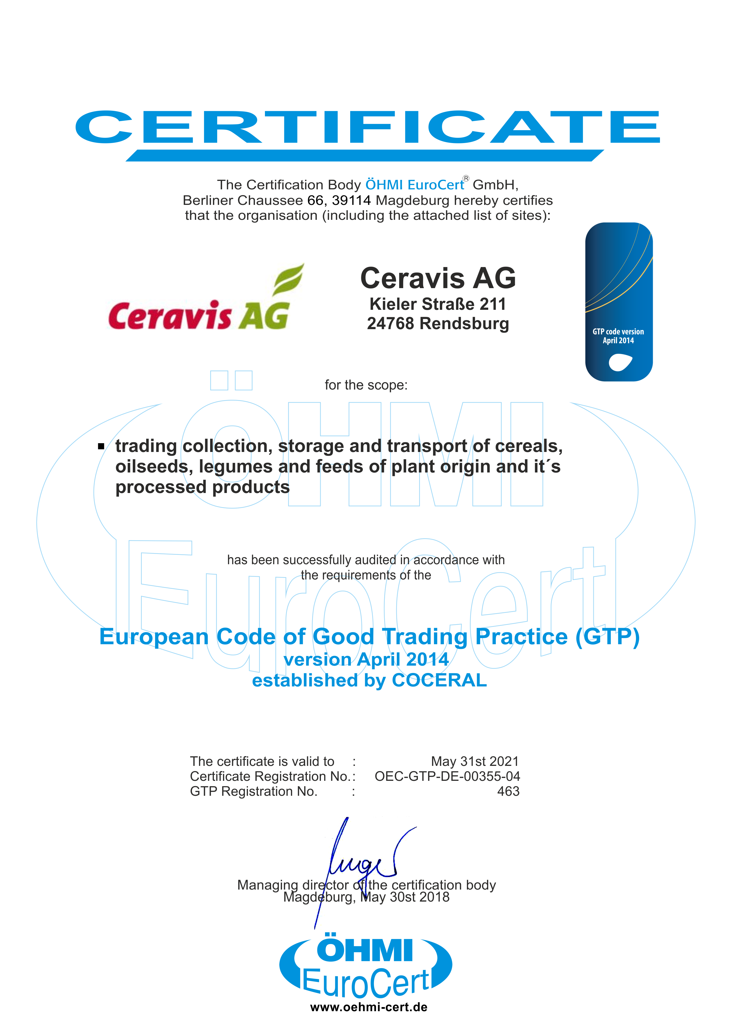 Certified Companies